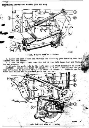 Images of Farmall Cub Owner's Manual Pages