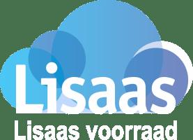 Lisaas Voorraad logo witte tekst