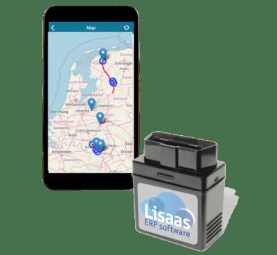 GPS Tracker met OBD stekker, plug and playy
