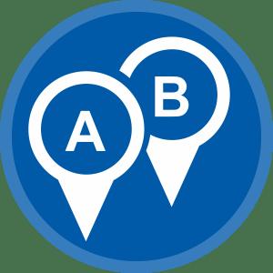 kilometerregistratie met Lisaas ERP Software