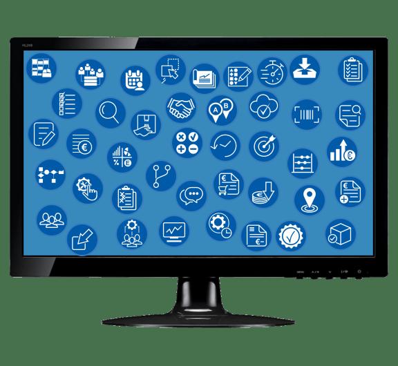 Lisaas ERP Software is compleet en voorziet in vele extra functionaliteiten