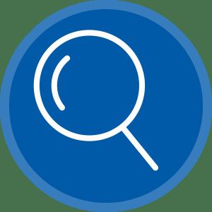 Een scale aan zoekfuncties voor een snelle inventarisatie en overzicht