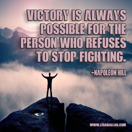 VictoryQuoteNapoleonHill