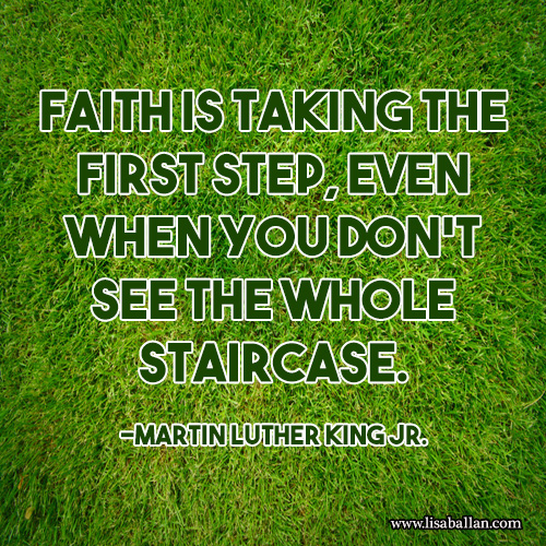 QuotesMLKFirstStepStaircase