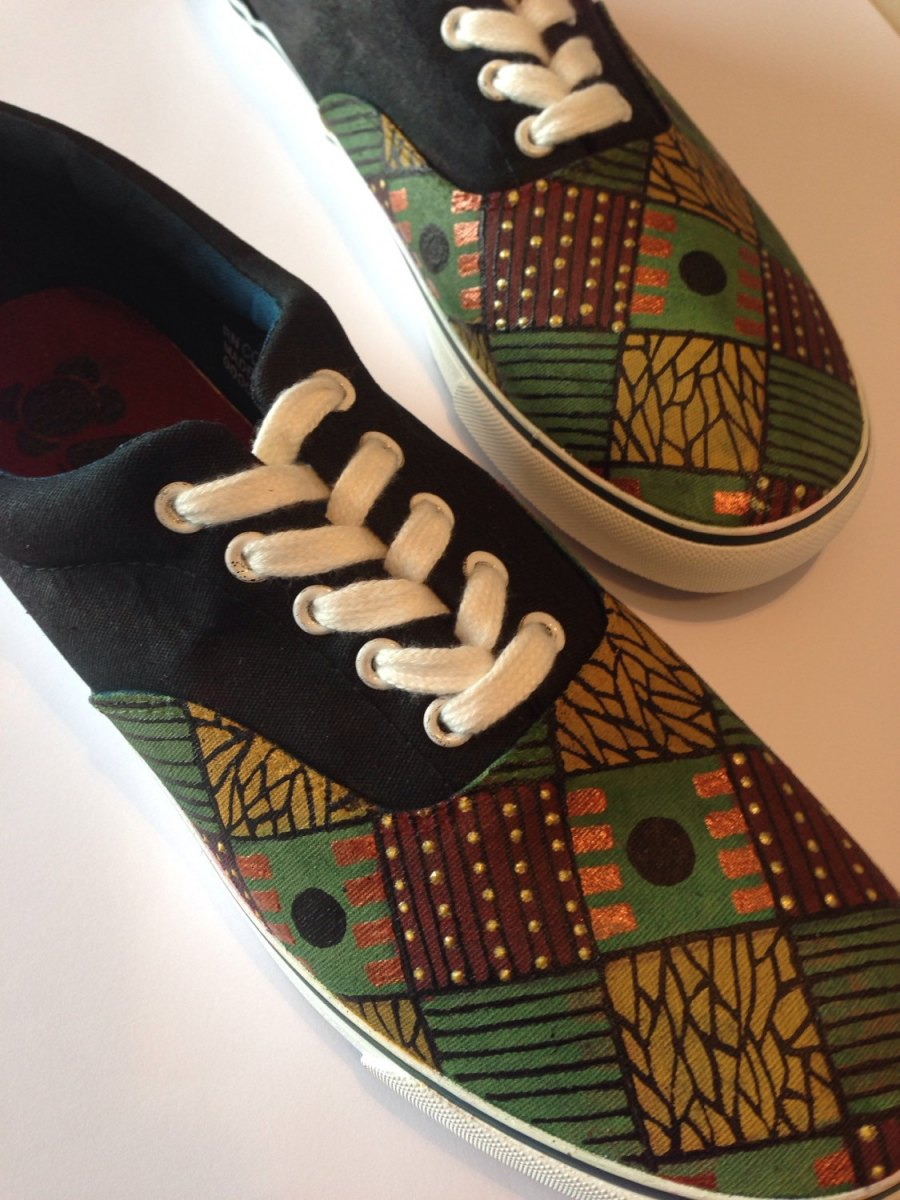 Men's African Print Shoes