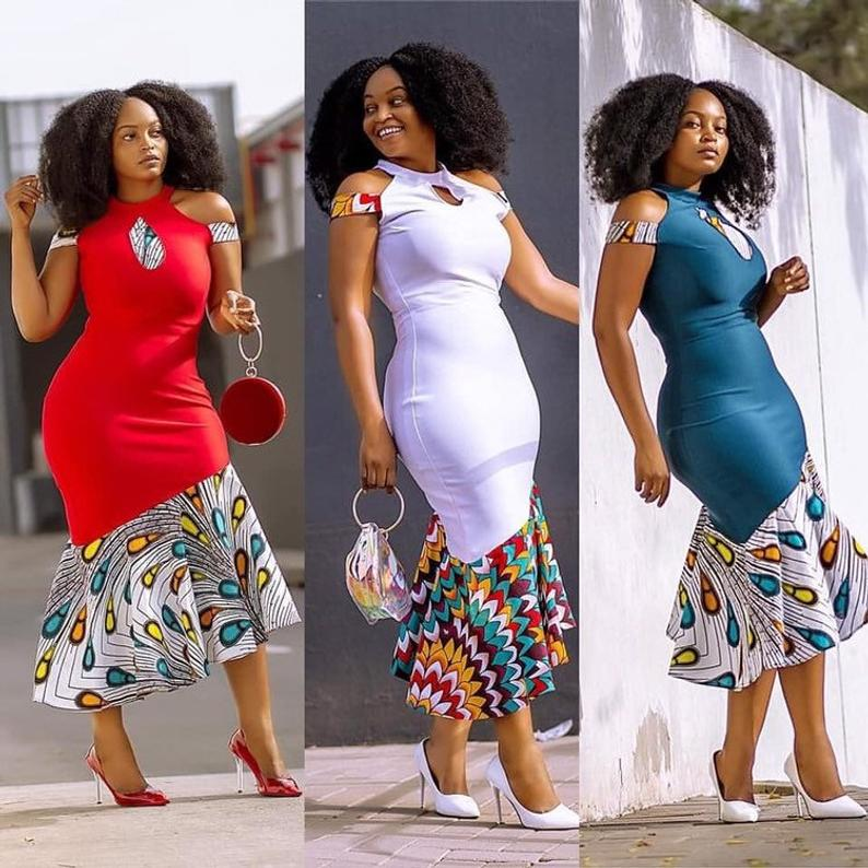 African dresses for women African print dress Ankara clothing for women African dresses African shop