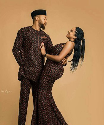LisabelByLisabel African Couples Matching Outfit