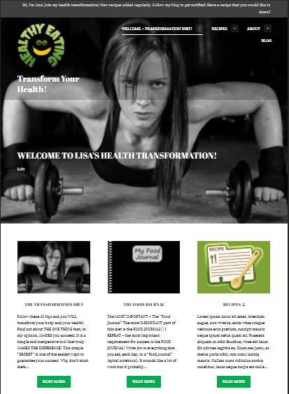 HealthandFitnessTransformation.wordpress.com