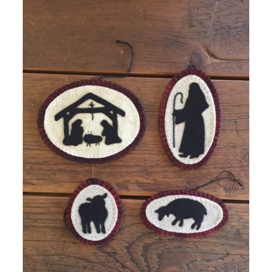 oh holy night ornaments