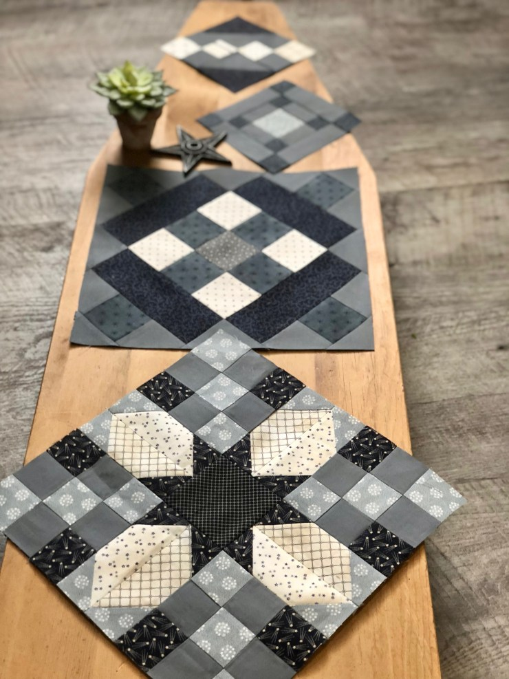 Moda Blockheads 2 Quilt Along Project: Block 4 featured by top US quilting blogger, Lisa Bongean