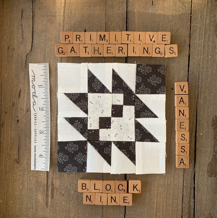 Taos Quilt Block tutorial featured by top US quilting blogger, Lisa Bongean