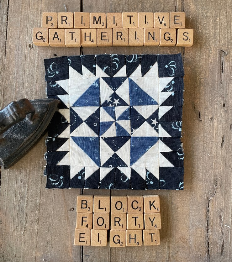 Moda Block Heads 3 Block 48
