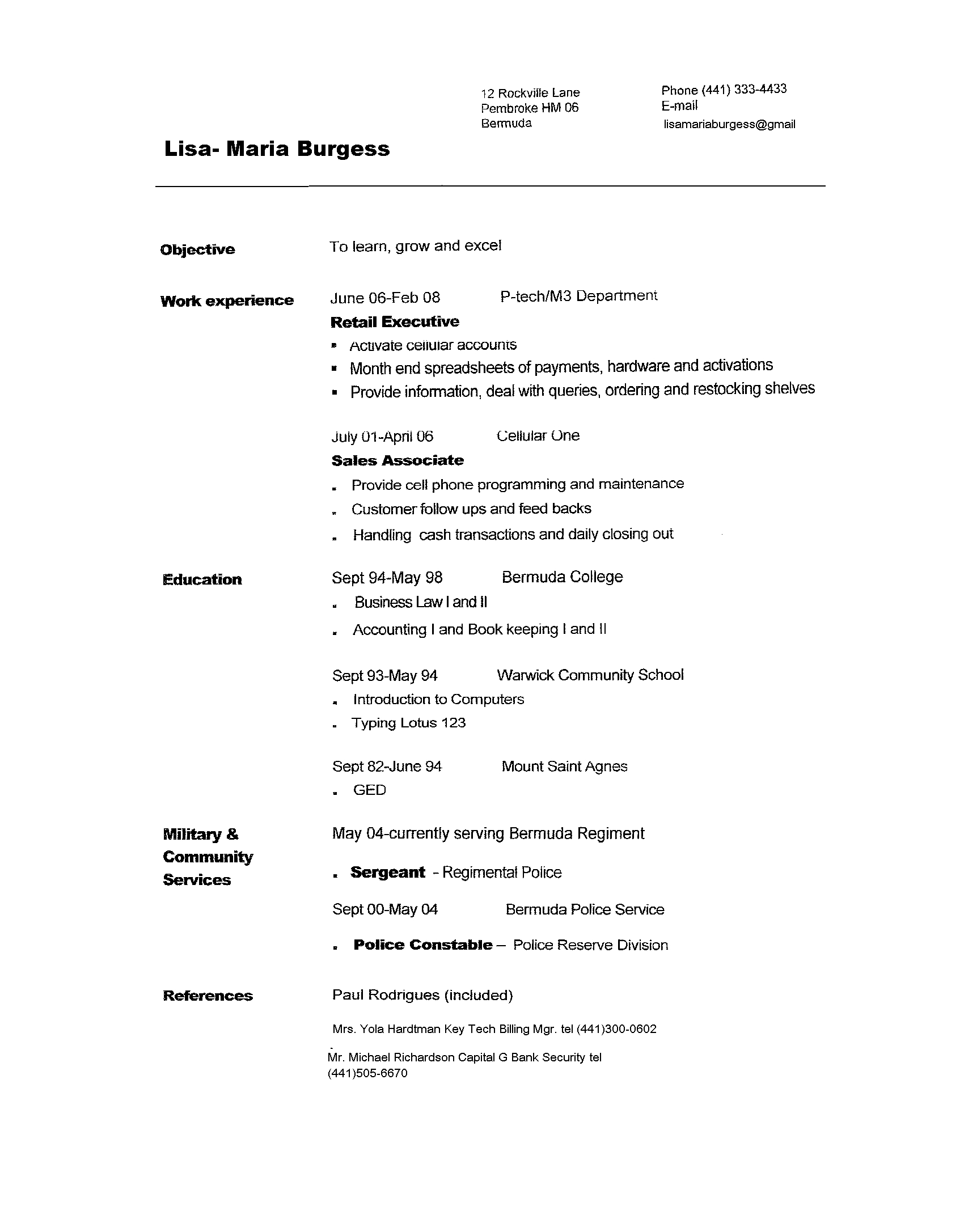 copy of resume format resume format  copy of resume format