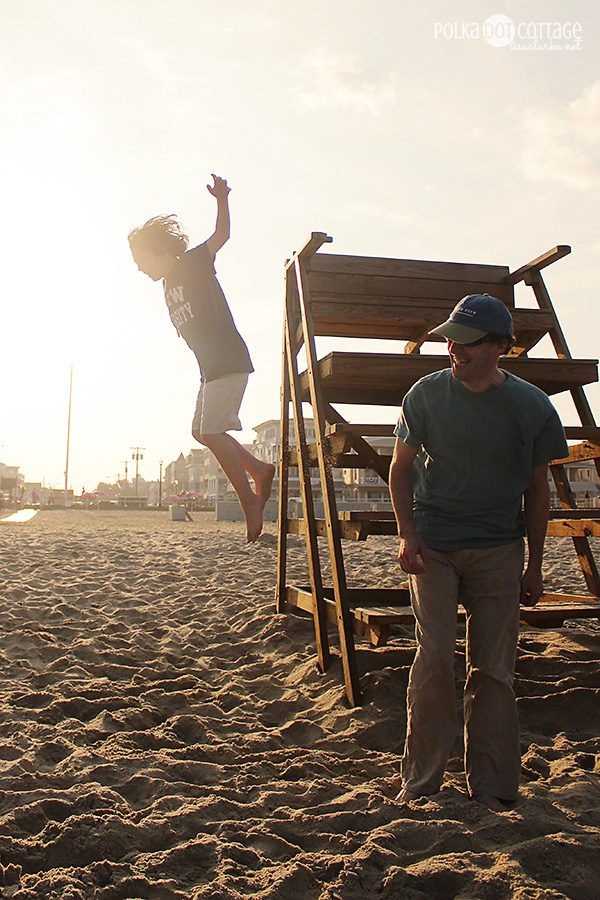 Jump! in Ocean Grove, NJ at Polka Dot Cottage