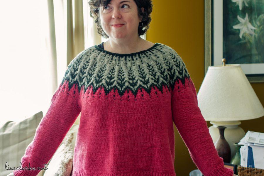 Vintersol Sweater Front