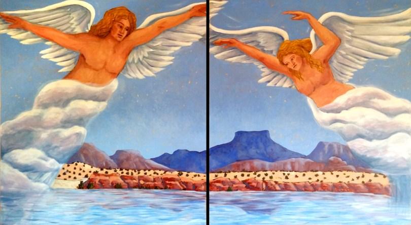 Abiquiu Angels e black