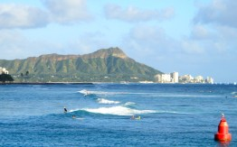 Diamond Head & Waters Along Waikiki
