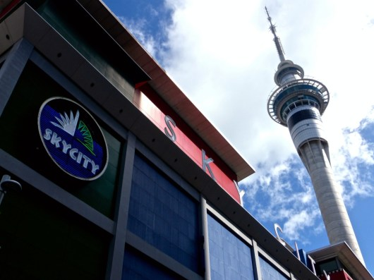 New Zealand - November 2014 - Approaching Sky City