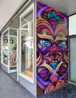 Auckland Along K Road - Sean Duffell (aka Ghostie)