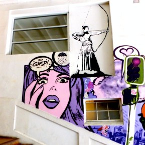 Auckland - On The Steps Of St Kevins Arcade On K Road - Cut Collective - GASP - Replaced All Fresco 2015