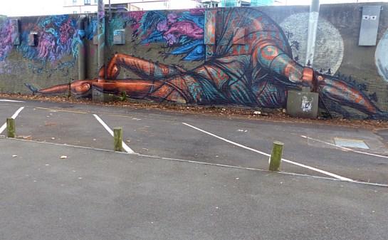 Auckland - Cinzah Wall (Close-Up) - All Fresco 2015