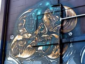 Street Art - Auckland - April 2015 - Elliott Francis Stewart - Cross Street_Copy