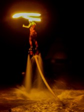 And The Grand Finale....Fire Dancer On Jet Packs