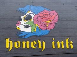 Street Art - Newcastle - October 2015 - Honey Ink Tattoos - King Street