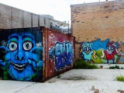 Street Art - Newcastle - October 2015 - In Alley Between Hunter and King - Unknown 5
