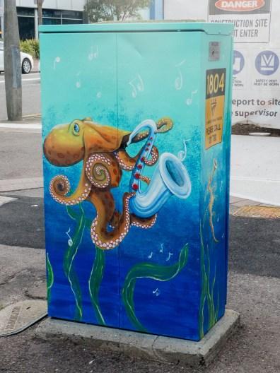 Street Art - Newcastle - October 2015 - Octopus - Unknown