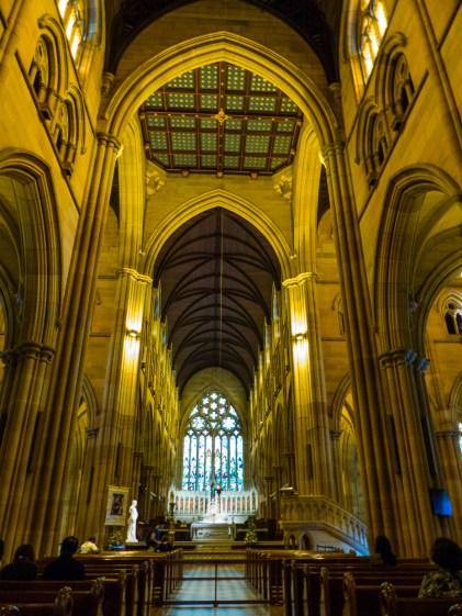 Inside Saint Mary's
