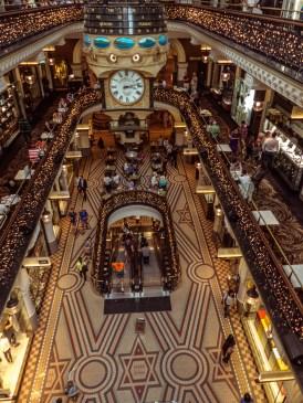 Queen Victoria Building Levels