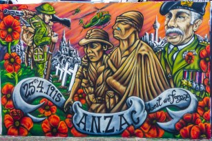 ANZC Mural - Bondi