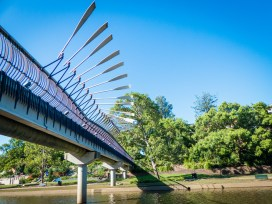 Bridge Along Parramatta River Walkway