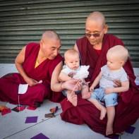 Tenzin Takpa And Rinpoche Thupten Tenzin