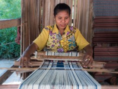 Boti Ikat Weaving