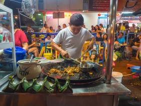 Night Market On Lorong Baru
