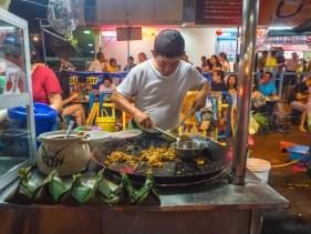 Night Market On Lorong Baru