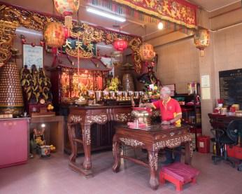 Inside Qi Tian Gong Temple