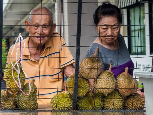 Durian Sellers Tiong Bahru