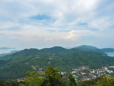 View From Nakkerd Hills Where Big Buddha Sits