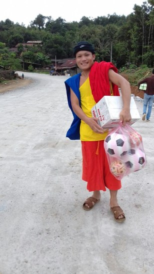 Smiles and Soccer Balls - Image Courtesy Monk Phout