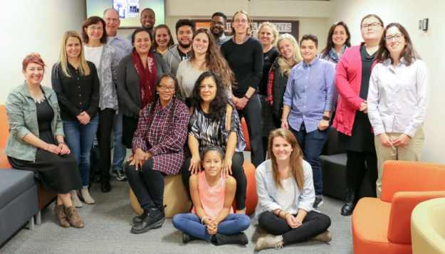 DePaul MA in WRD students and community partners