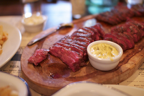 Restaurant Review: Flat Iron Steak London