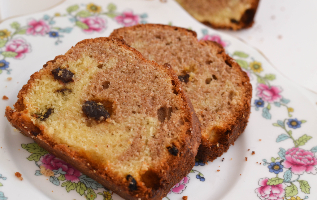 Cinnamon and Raisin Marbled Loaf