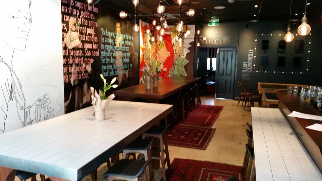 Restaurant Review: Cliche Exhibition