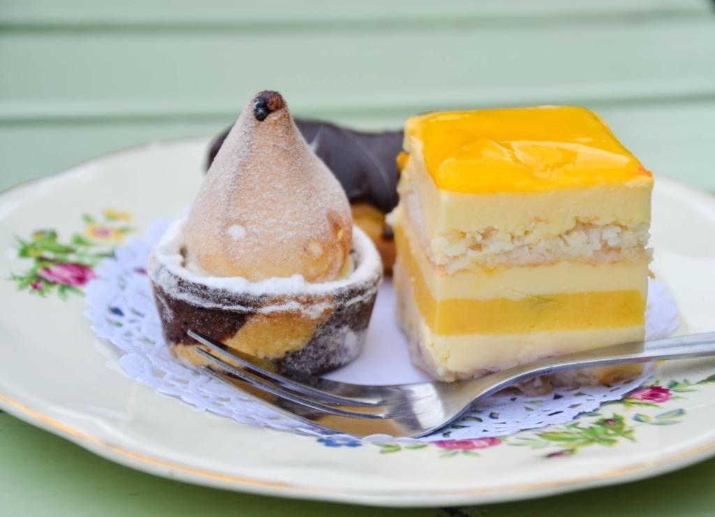 Menage a Trois Trio of Desserts