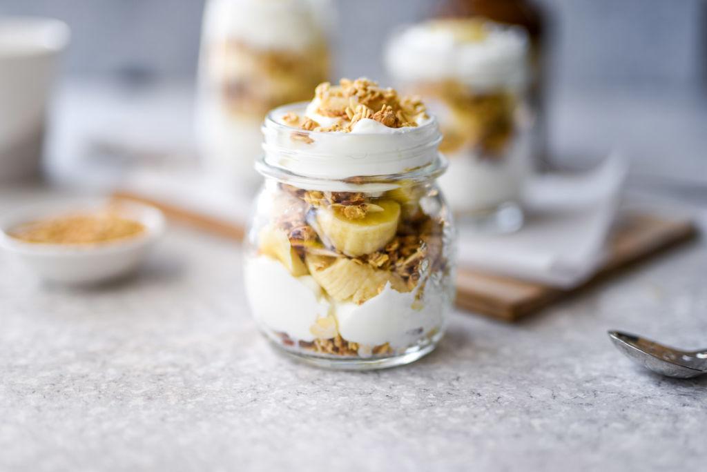 Banana Breakfast Parfaits