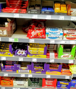 Shelf of Chocolate