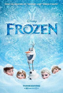 Frozen (2013) film poster